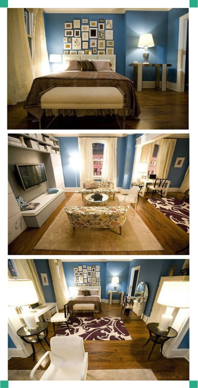 Always loved Carrie's apartment...