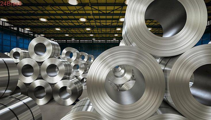 Brasil vai recorrer da decisão dos EUA de taxarem aço e alumínio