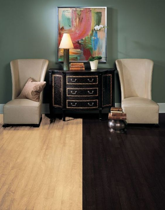 20 dark wood floors ideas designing your home around diy - Light Hardwood Castle 2015