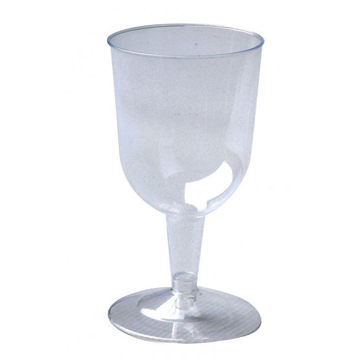 Plastic Wine Glasses BULK (Set of 12) [Buy Bulk Plastic Wine Glasses] : Wholesale Wedding Supplies, Discount Wedding Favors, Party Favors, and Bulk Event Supplies