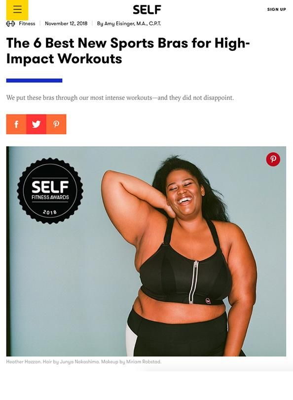 c06ae5f9531 Enell Sports Bras - Self Fitness Awards 2018