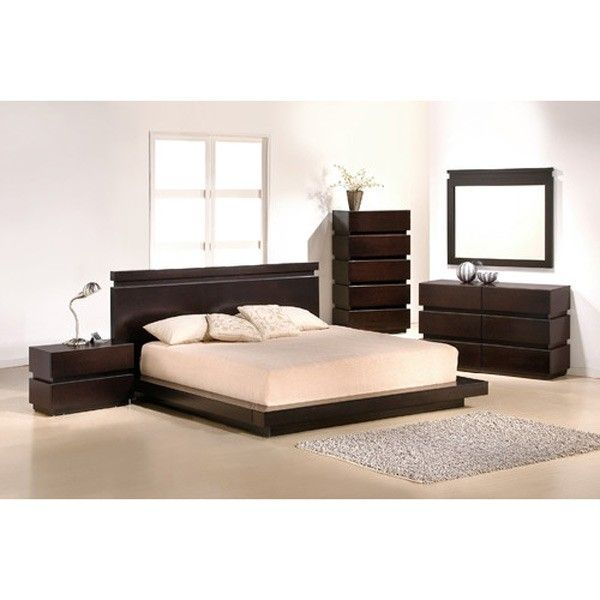J&M Furniture - Knotch 6 Piece Eastern King Size Bedroom Set  - 1754426-K-6SET
