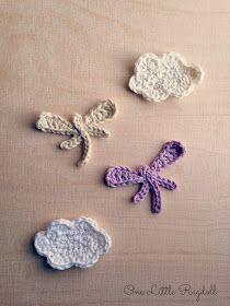 One Little Ragdoll: Sudenkorento-ohje [Dragonfly pattern]
