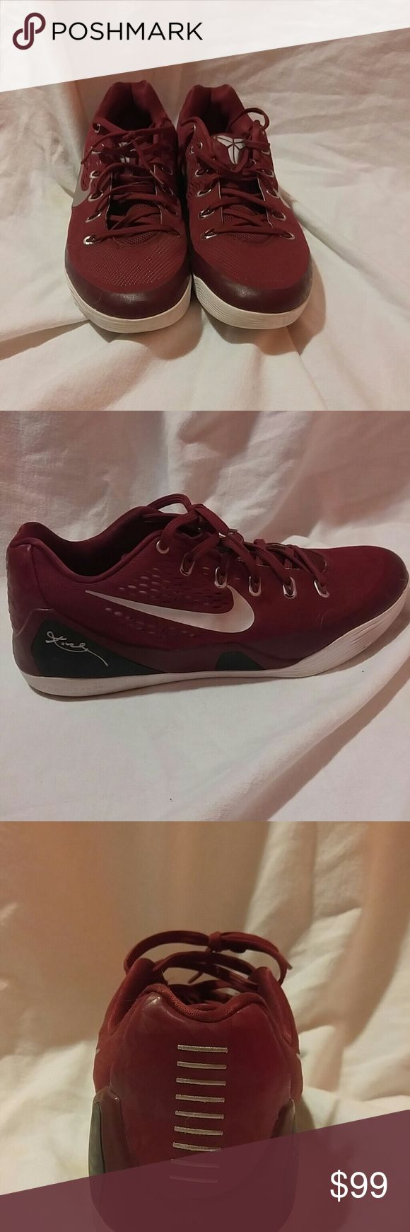 Nike Kobe 9 Maron Size 14 Nike basketbal Nike Shoes Sneakers