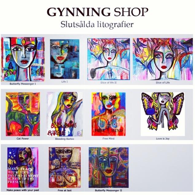 Ska åtminstone ha en av Carolina Gynnings tavlor