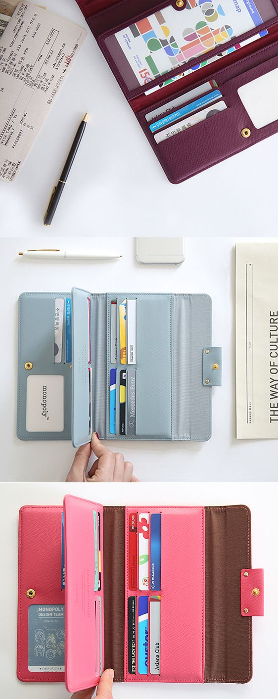 I'm loving this practical and beautifully designed Classy Leather Wallet! It has so much storage to fit everything I need (and more) while staying slim so I can take it with me anywhere! It has a whopping 13 card slots for ALL my cards. The bill slots and zippered pocket will hold all my cash, receipts, and coins. There are even bonus clear pockets where I can put my ID and cute photos! A button closure tops off this classic accessory! Check out all the sophisticated styles for yourself…
