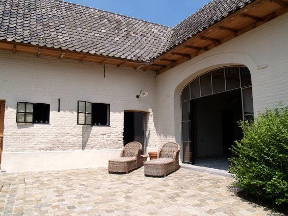 Landelijke gerenoveerde hoeve # arch. François Vandamme # www.devabo.be # recupan