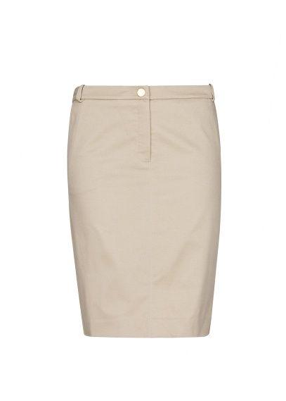 MANGO - Cotton pencil skirt