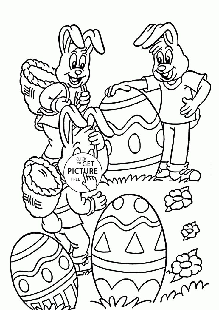 funny easter bunny coloring page for kids holidays coloring pages printables free wuppsy