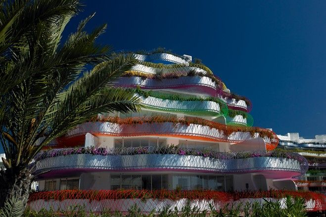 Decadent Ibiza Apartment designed by French architect Jean Nouvel