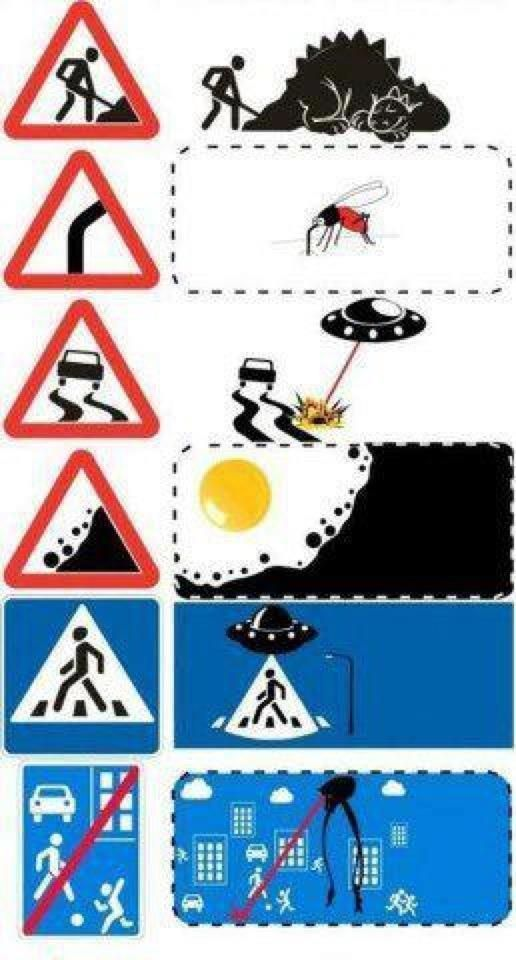 Best Street Sign Project Images On Pinterest Street Signs - Car sign meaningsfunny alternative road signs car keys