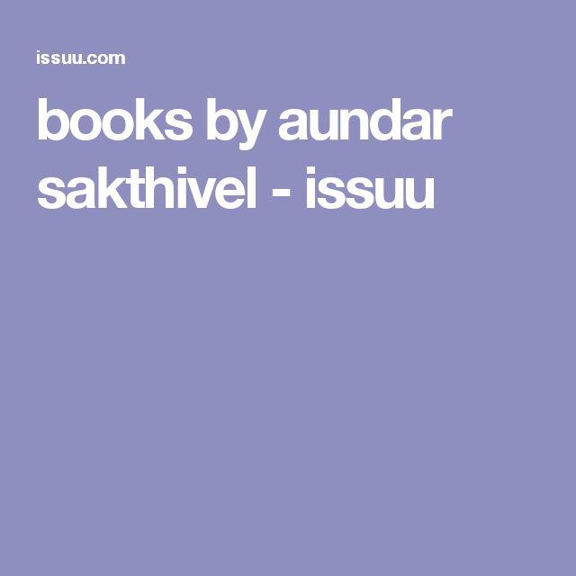 books by aundar sakthivel - issuu