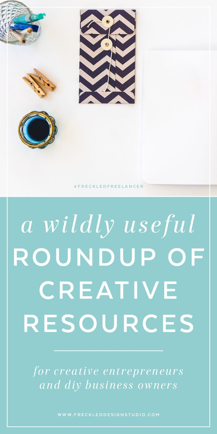 A wildly useful roundup of creative resources for creative entrepreneurs and DIY business owners from Lorin Galloway of Freckled Design Studio