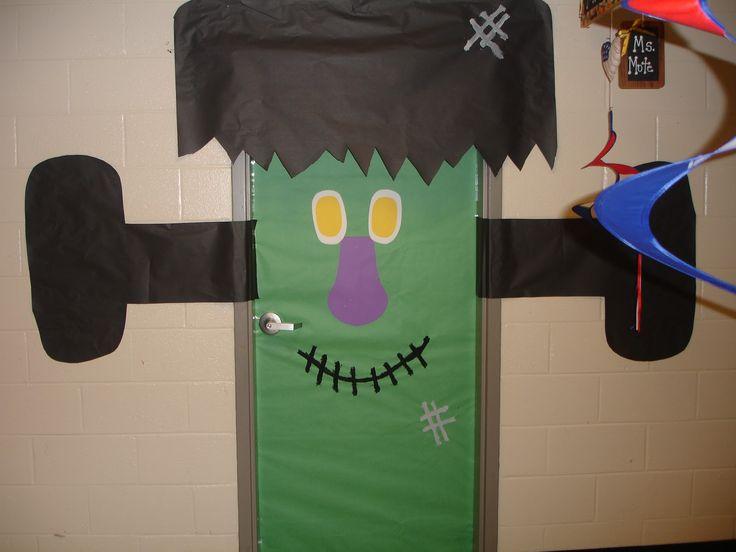 door decorations thanksgiving crafty chicks classroom door halloween ideas