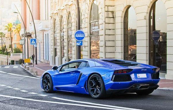 Blue Lamborghini Aventador | Lamborghini | Pinterest ...
