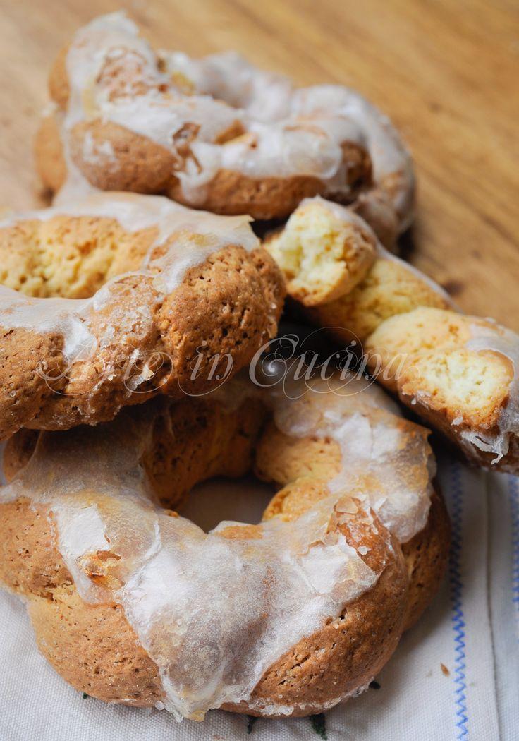 Taralli siciliani al limone glassati facili e veloci vickyart arte in cucina