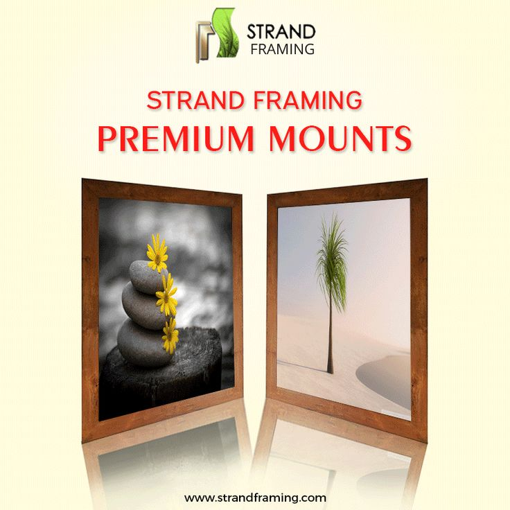 Picture mounts are not all the same. This #GIF image shows the various kinds of #PictureMounts used by us at Strand Framing Ltd!