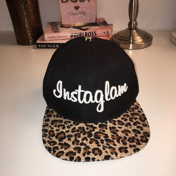Instaglam SnapBack Perfect for all of my glam girls out there! This is a cute SnapBack that is in great condition. Not faded. Adjustable. I have more pics on my IG: alexiscantillo. No trades so please don't ask. Push & Co. Accessories Hats