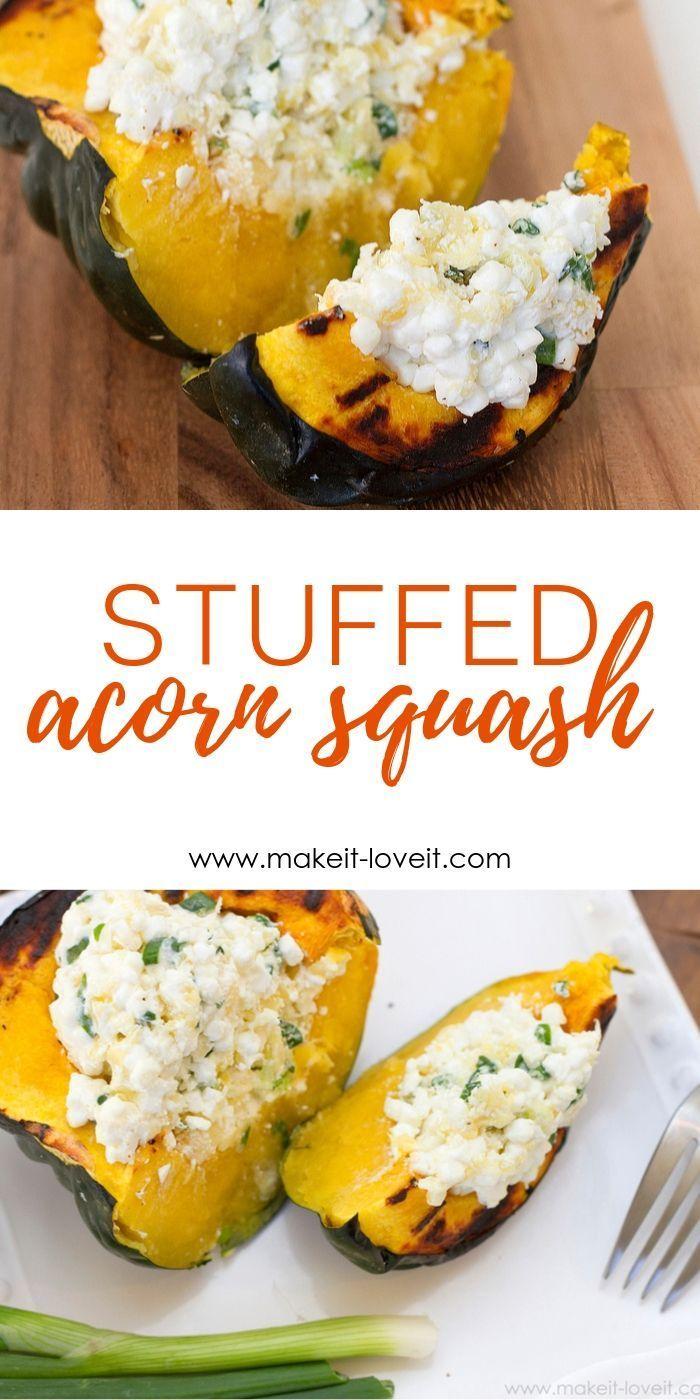 Stuffed Acorn Squash Packed With Flavor Acorn Squash Acorn