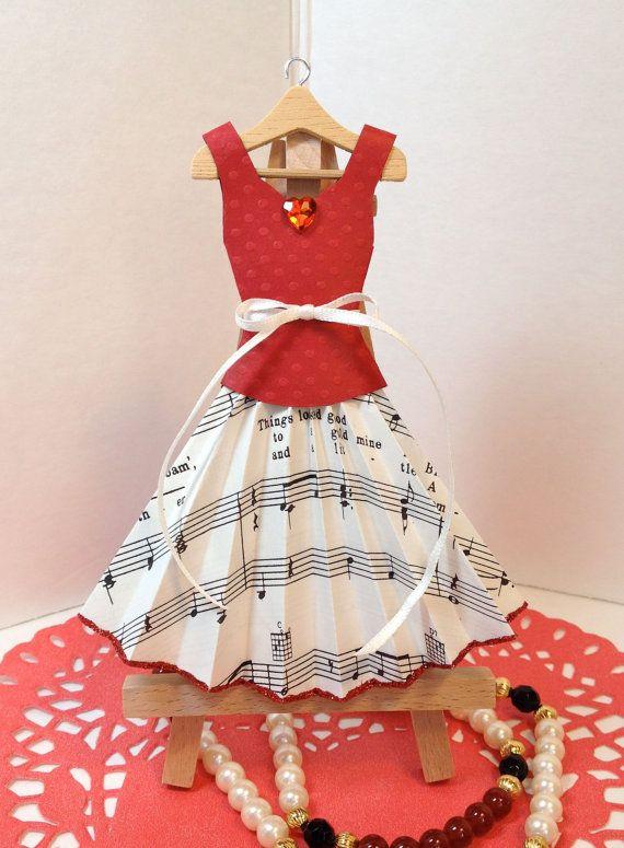 Art robe de papier papier robe de fête location par PaperDoxie
