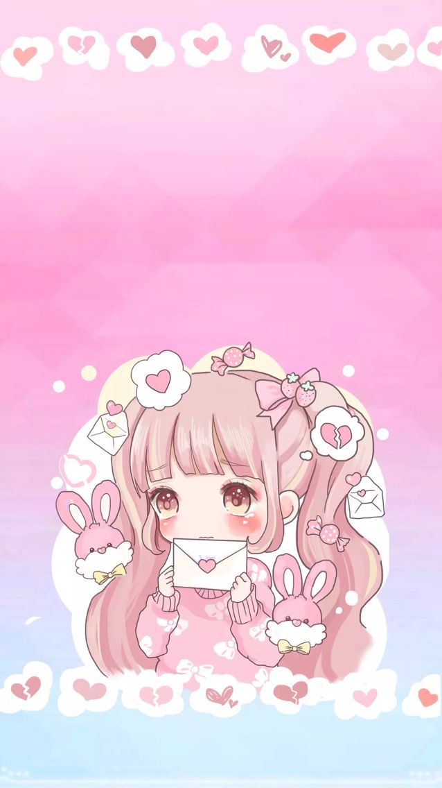 Cute Kawaii Anime Wallpaper Pc Novocom Top