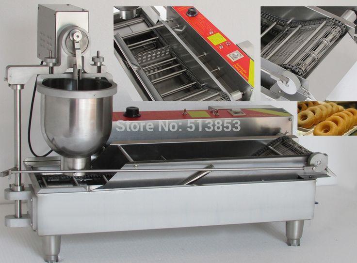 "1800.00$  Buy now - http://alitpm.worldwells.pw/go.php?t=32680125003 - ""Automatic Donut deep fryer machine 1800.00$"