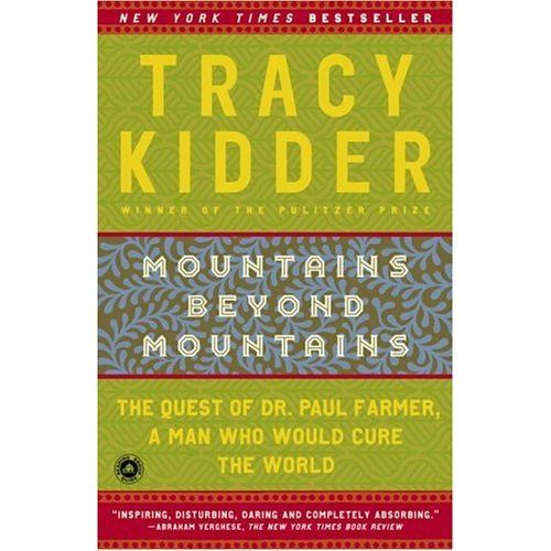 Paul Farmer's experience with TB and Haiti told by Tracy Kidder