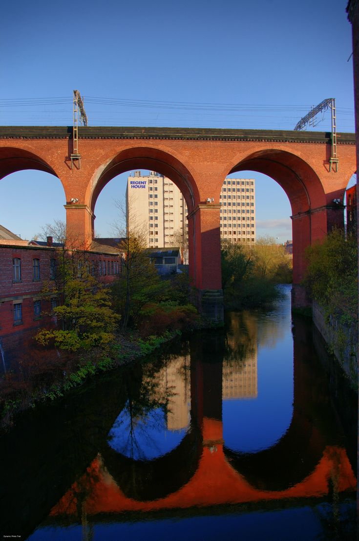 stockport viaduct. My first greeting going back home.