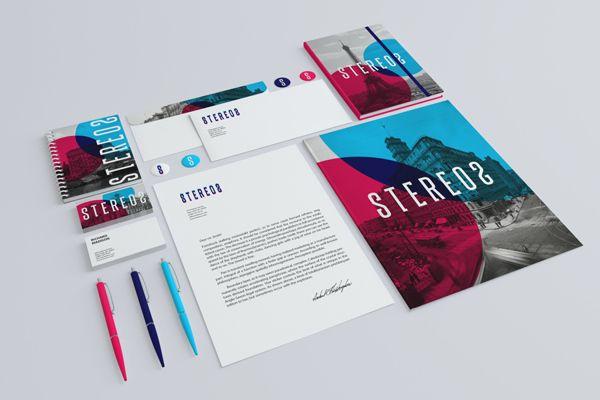 Stationery / Branding Mock-Up by infostyle.itembridge , via Behance