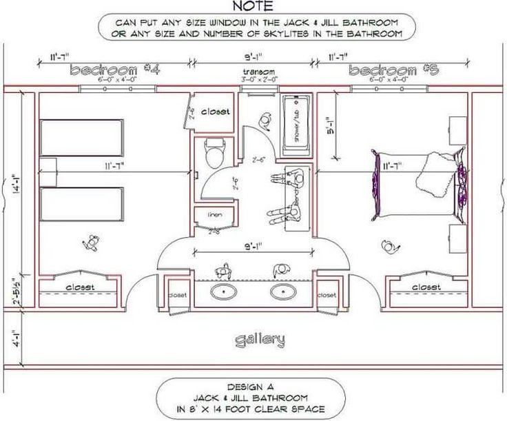 Jack And Jill Bathroom Floor Plans May Become Your Best