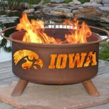 Iowa Hawkeye Fire Pit