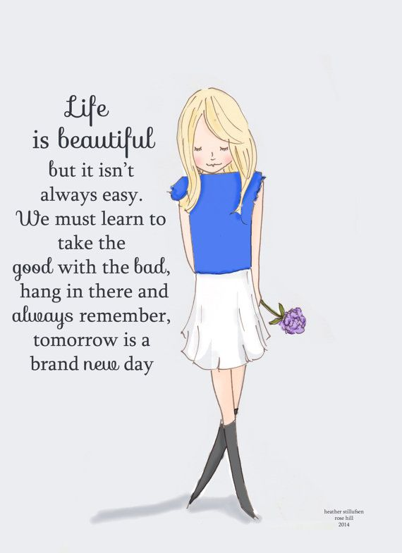 Inspirational Art for Women Life is by RoseHillDesignStudio, $20.00