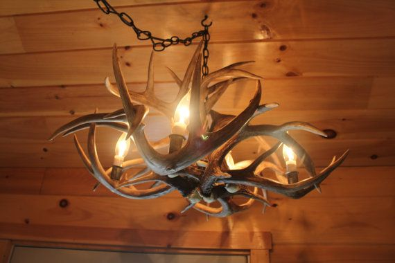 Deer Light Chandelier
