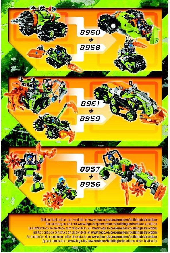 Power Miners - Granite Grinder  [Lego 8958]