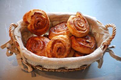 Onze Franse Keuken: Paasbrunch: mini kaneel brioches