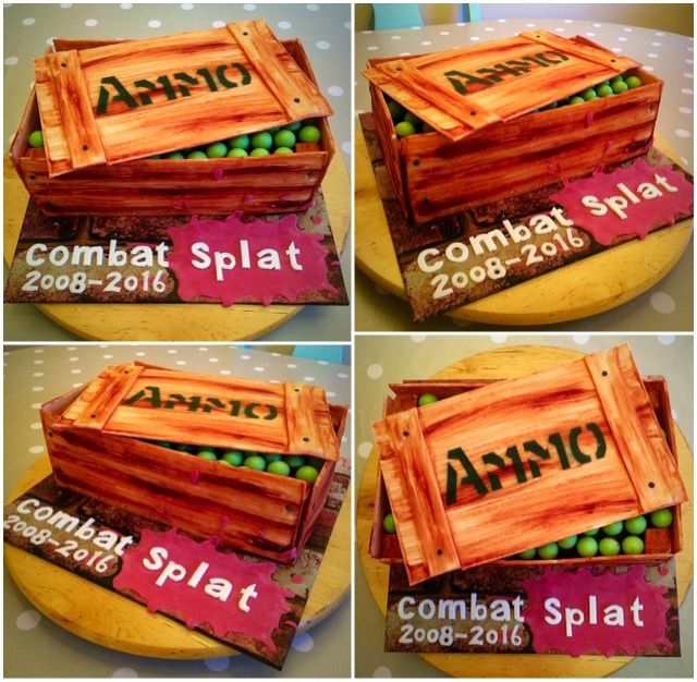 Ammo cake and video https://youtu.be/PRftJ4VtN0g