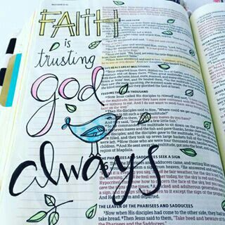 Matthew- Bible Journaling