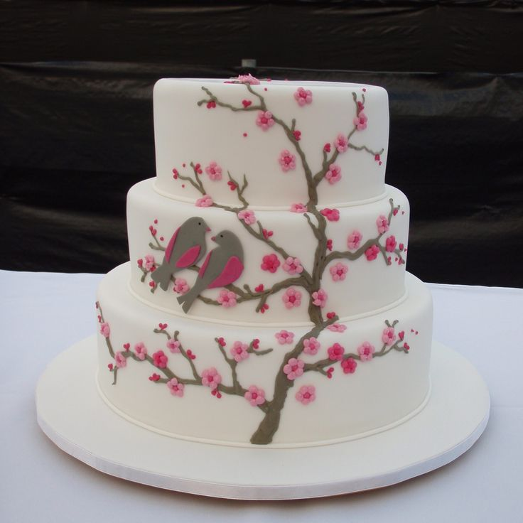 Amazing Cakes: 25+ Best Ideas About Cherry Blossom Cake On Pinterest