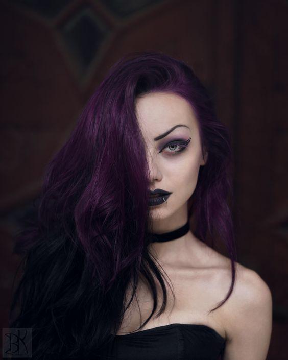 19 Best Purple Hair Colors Images On Pinterest Colourful Hair