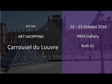 Art Shopping Carrousel du Louvre 2016 with PAKS Gallery  ||  Art Shopping Carrousel du Louvre 2016 with PAKS Gallery: PAKS Gallery represent artists: worldwide famous Pop Art artist Tanja Playner, Guilhem Ribart, Franz... https://www.youtube.com/watch?v=AHMqiscDlhE
