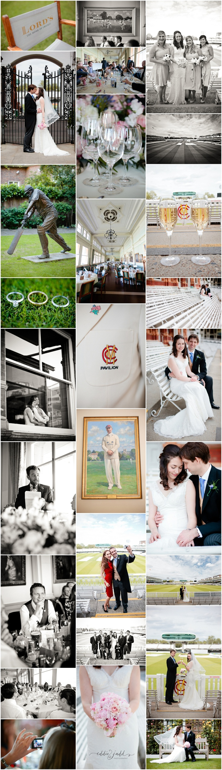 Lords Cricket Ground wedding | Wedding photography | Eddie Judd Photography