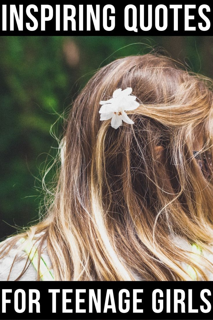 Parenting teenage girls is tough work.Teaching your teenage daughter confidence and how to stand up for herself is more important than ever. Here are 18 Powerful Quotes from Fearless Women for Teenage Girls to help inspire them.