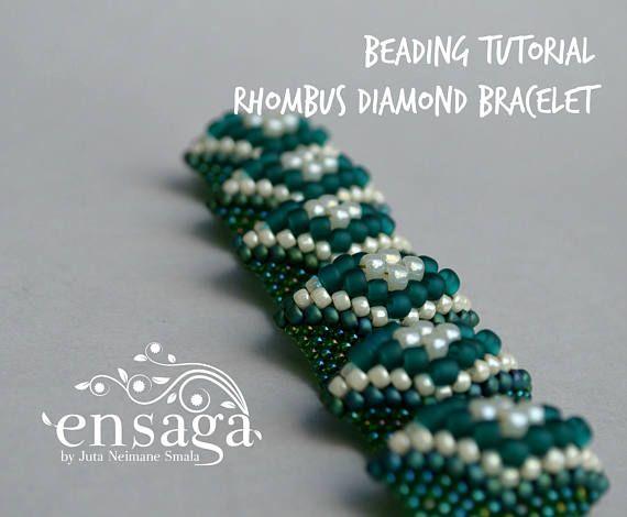 Bracelet Tutorial Beading Pattern Cellini Beadweaving Seed