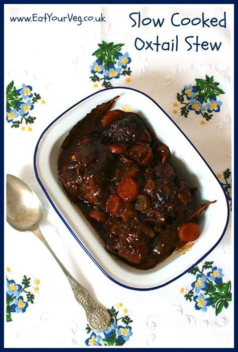 Eat Your Veg   Slow Cooked Oxtail Stew using Oxtail from online butcher Donald Russell
