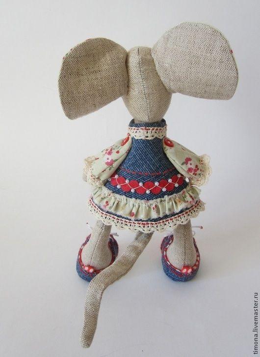 Игрушки животные, ручной работы. Уики-Вэки-Воки-мышка. Ирина Рогачева (Куклы и игрушки). Ярмарка Мастеров. Мышка игрушка