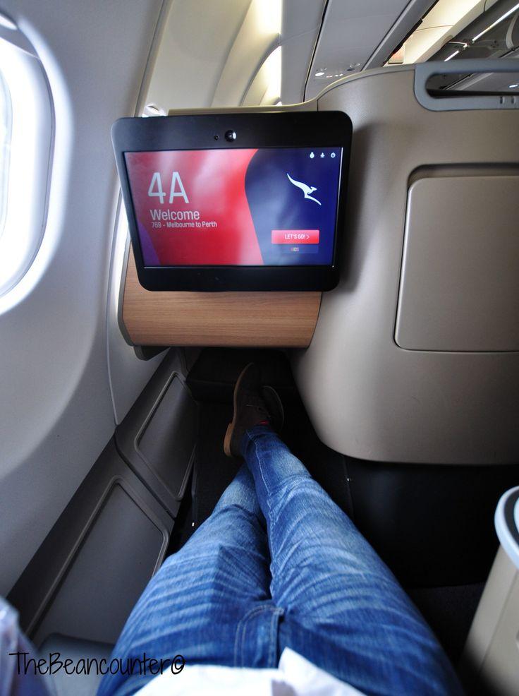 Qantas A330 Business Class legroom