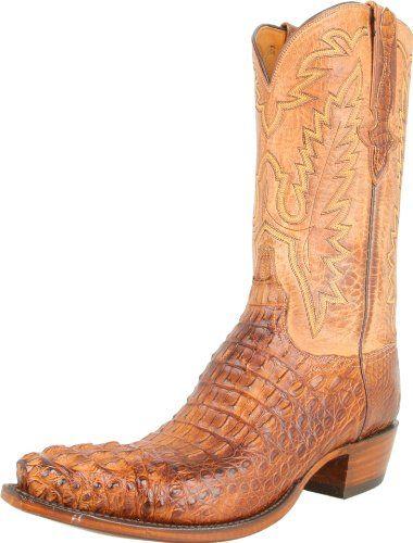Lucchese Classics Men's L1331 Boot,Tan Burnished Mad Dog Hornback/Tan Burnished Mad Dog Goat,9 D (M) US Lucchese http://www.amazon.com/dp/B003TG3YKK/ref=cm_sw_r_pi_dp_Rn9wub1F3W0P8