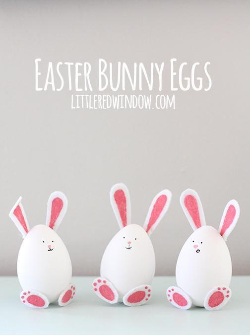 DIY Easter Bunny Eggs