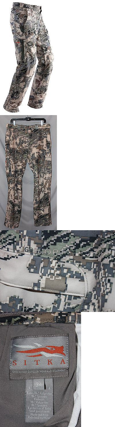Pants and Bibs 177873: Sitka Gear Ascent Mens Pants, Size: 34 2017 -> BUY IT NOW ONLY: $98 on eBay!