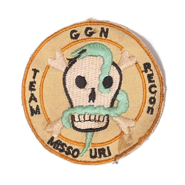 """vintage """"ggn recon"""" patch"""
